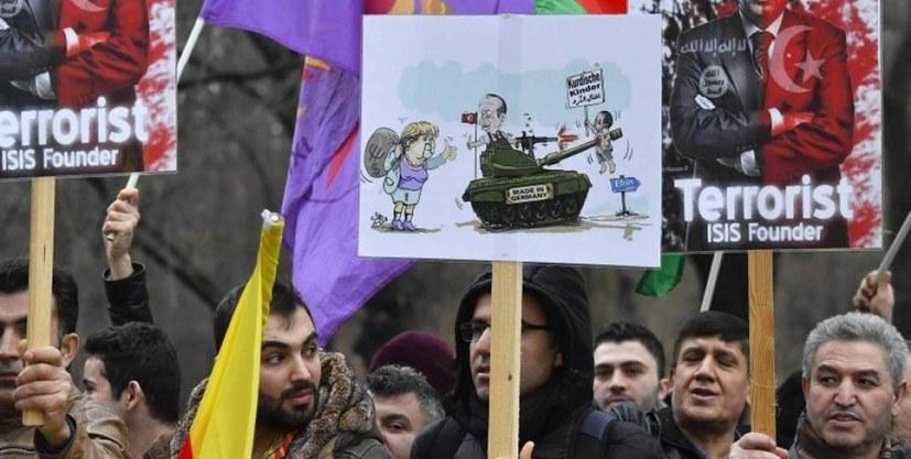 Sofortige Beendigung der türkischen Aggressionen in Nordsyrien!