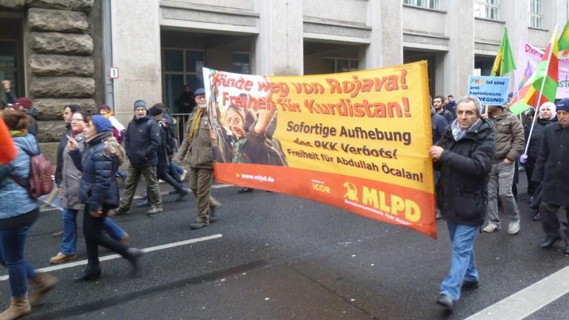"""Demonstration: """"Die Freiheit lässt sich nicht verbieten!"""""""