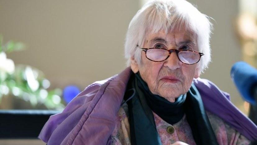 Esther Bejarano unterstützt palästinensischen Freiheitskampf