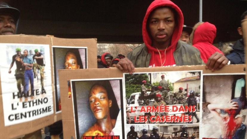 Gegen blutige Unterdrückung in Guinea