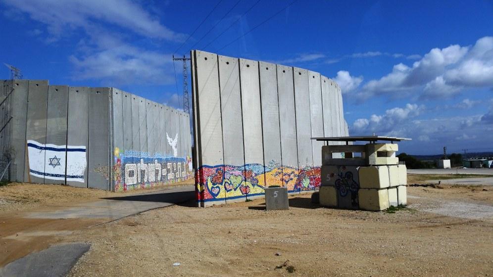 Israels Regierung baut eine Mauer um den Gaza-Streifen (Foto: Michael Panse CC BY-ND 2.0)