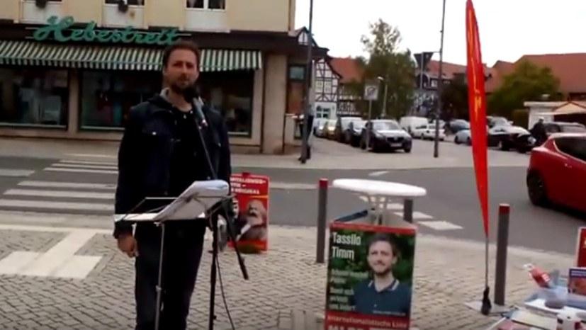 Wahlkampf in Thüringen Internationalistische Liste / MLPD vs. bürgerliche Parteien und Umweltschutz im Kapitalismus?