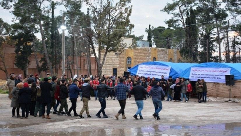 Mahnwache in Kobanê geht weiter