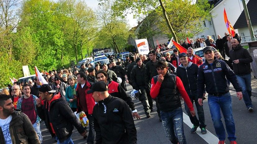 Faschistische Attacken und professionelle Mordanschläge gegen MLPD-Mitglieder
