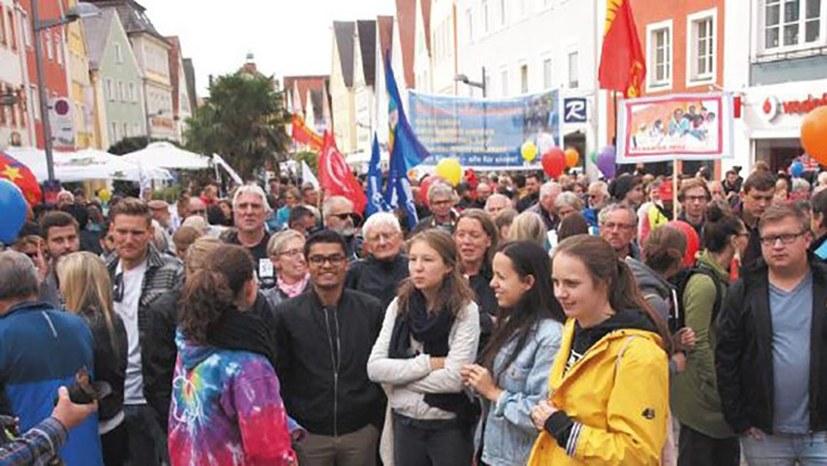Protestwelle gegen rassistische Hetzkampagne - Welle der Solidarität mit Alassa M.