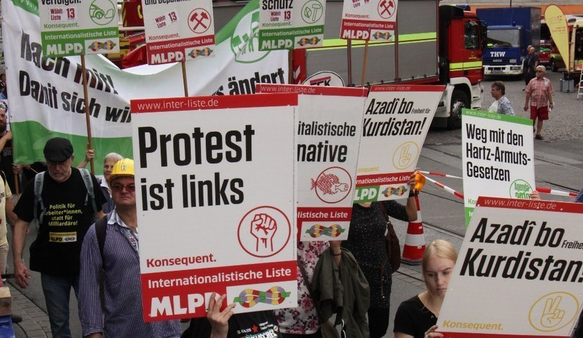Internationalistische Liste / MLPD kandidiert - Startschuss bei LLL