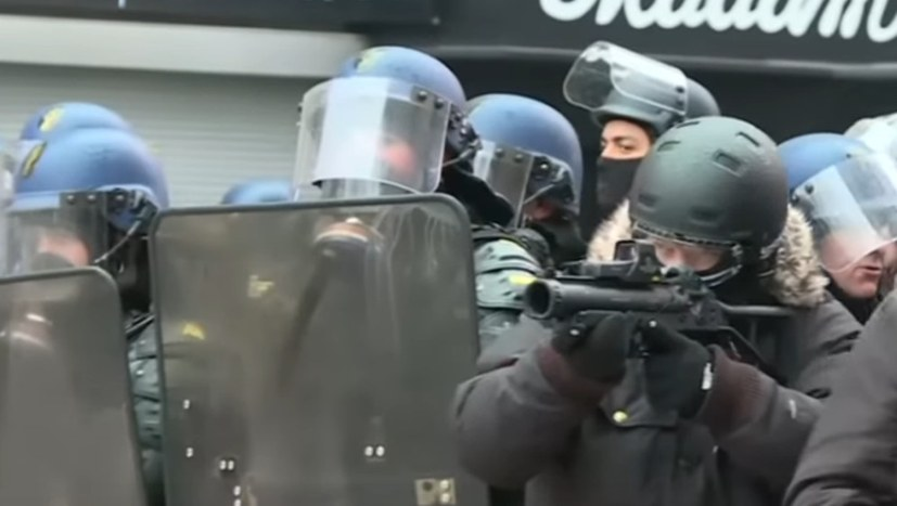 Zorn über Polizeigewalt