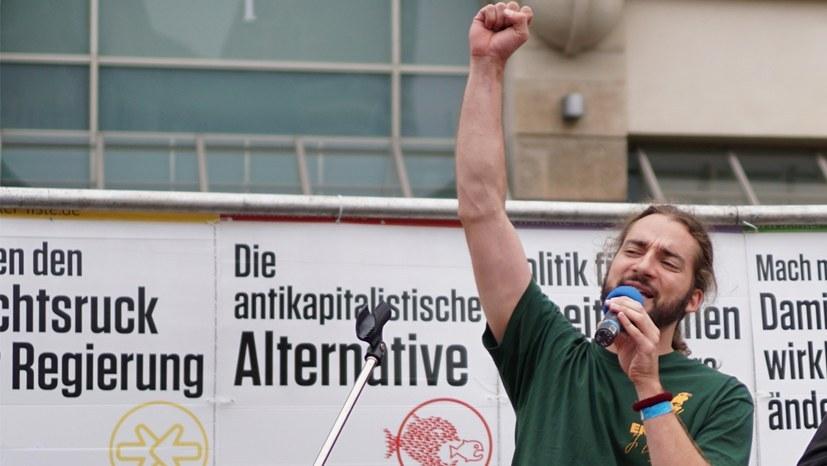 Wirkliche Alternative zum Kapitalismus - MLPD und Internationalistisches Bündnis (Foto: RF)