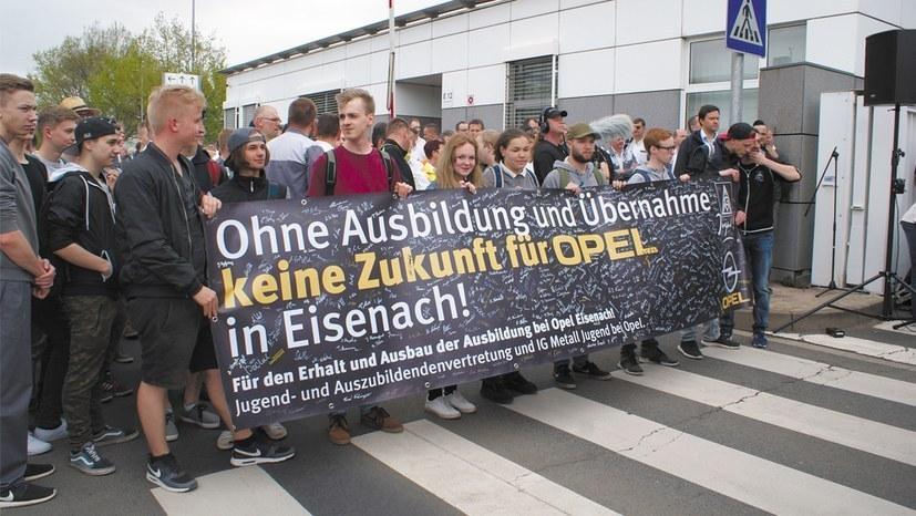 Diskussion um Arbeitszeitverkürzung bei Opel