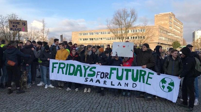 REBELL nimmt an Fridays-for-Future-Aktivitäten teil