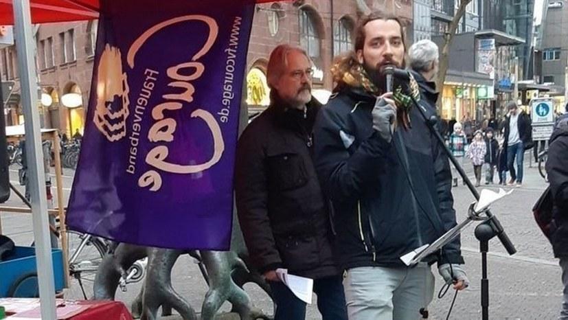 """""""Zelt der Solidarität"""" geht weiter – jeden Samstag in Karlsruhe"""