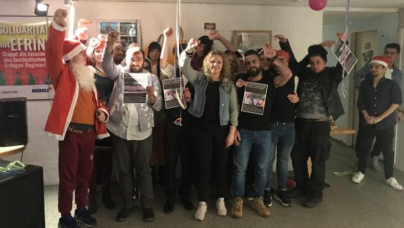 Jugendverband REBELL erklärt sich solidarisch mit Jasic-Beelgschaft