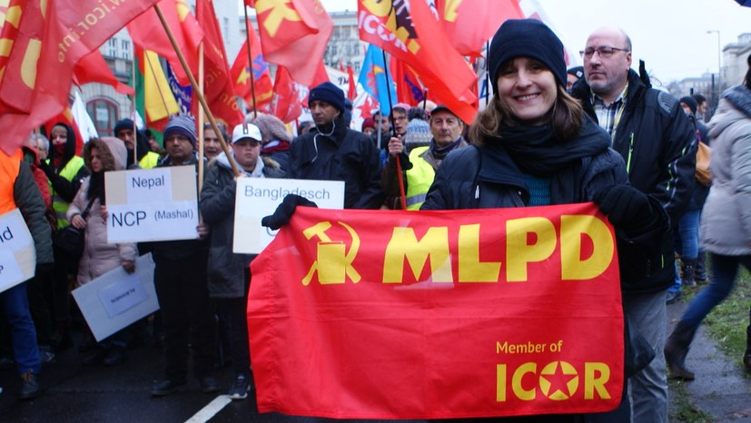 Spaltung und Polizeieinsatz wegen Antikommunismus