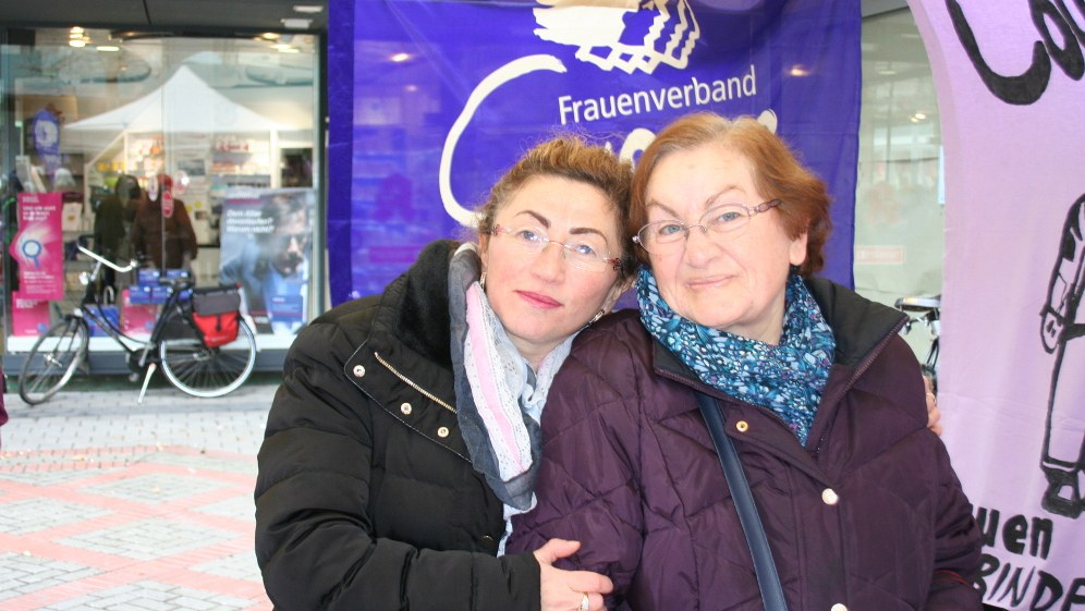 Solidarität am Internationalen Frauentag