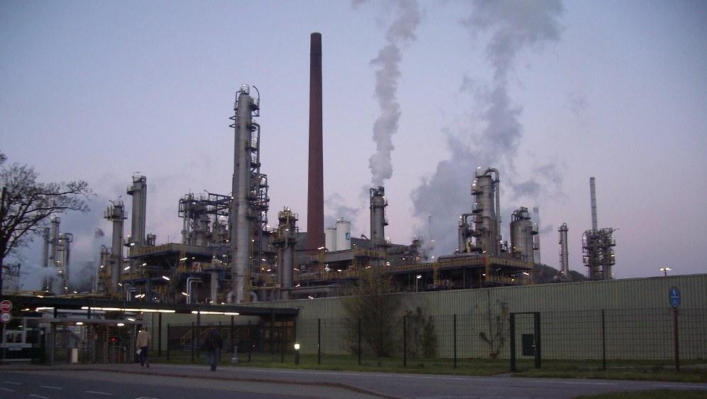 BP-Raffinerie in Gelsenkirchen (rf-foto)