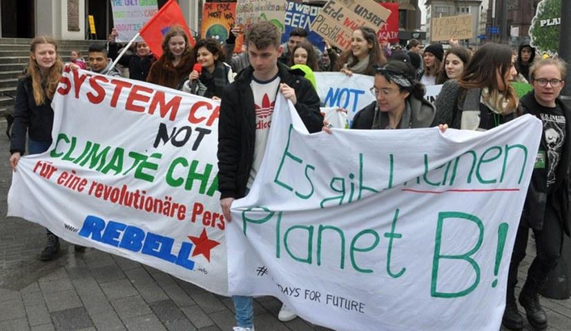 """Erfolgreiche Initiative für """"Fridays for Future""""-Demonstration"""