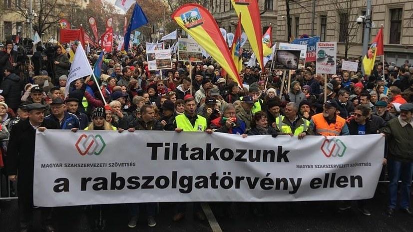 Streiks in Ungarn weiten sich aus