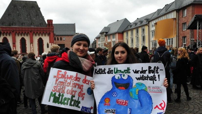 """Fridays for Future: Flugblatt """"Nicht nur freitags: Rebellion für die Zukunft"""" ist online"""