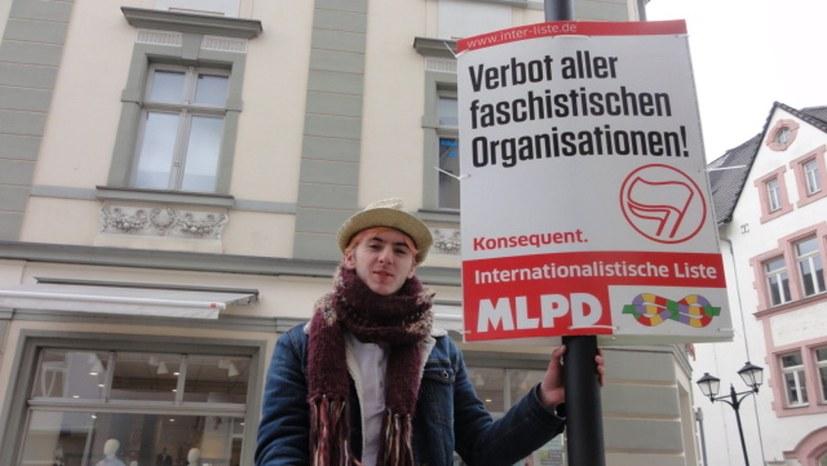 Ilmenau: Die ersten Plakate schmücken die Fußgängerzone