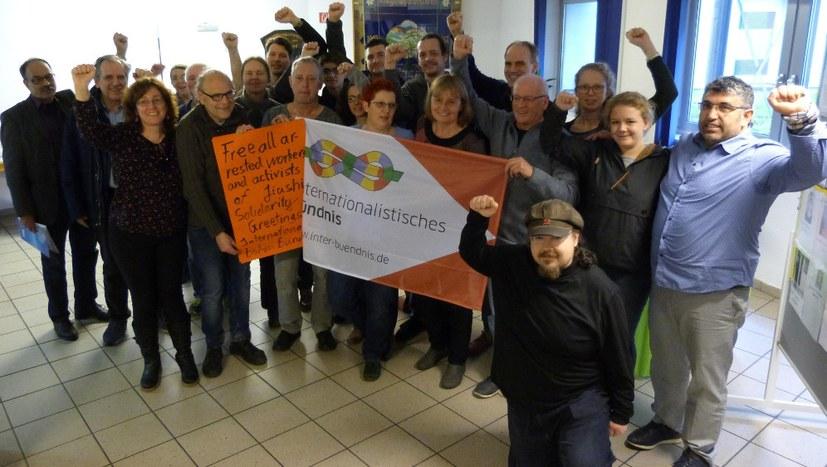 Volle Solidarität mit den Arbeitern der Firma Jasic (Jiashi)