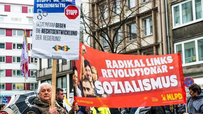 """Programmdiskussion - """"linke"""" Worthülsen übertünchen Rechtsentwicklung der Grünen"""