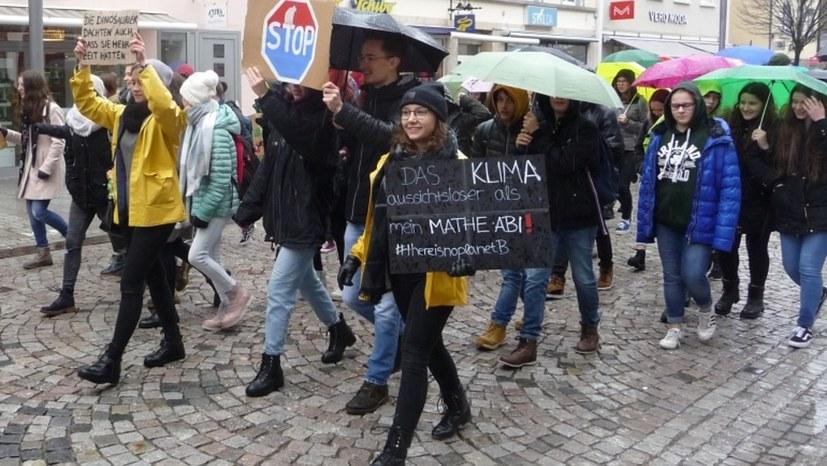 Fridays for Future: Villingen-Schwenningen reiht sich in den weltweiten Protest gegen Klimazerstörung ein