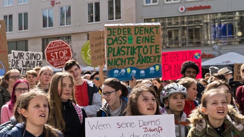 """Diskussionen über Forderungspapier für """"Fridays for Future"""""""