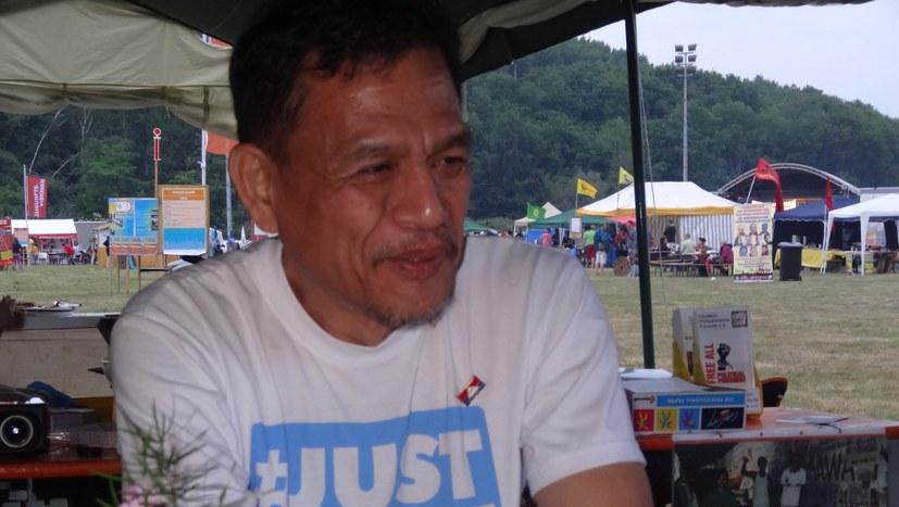 Friedensberater Renante Gamara erneut festgenommen