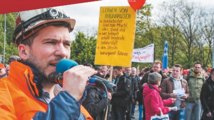 Heraus zum 1. Mai! Für Arbeit, Frieden, Umwelt, echten Sozialismus – stärkt die MLPD!