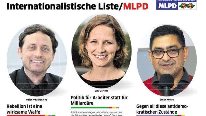 Wählt am 26. Mai Internationalistische Liste/MLPD!
