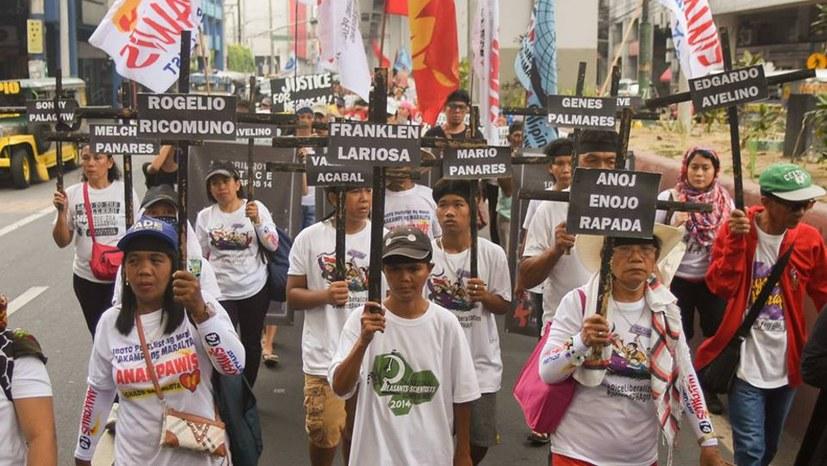 Proteste in Manila gegen Massaker von Negros
