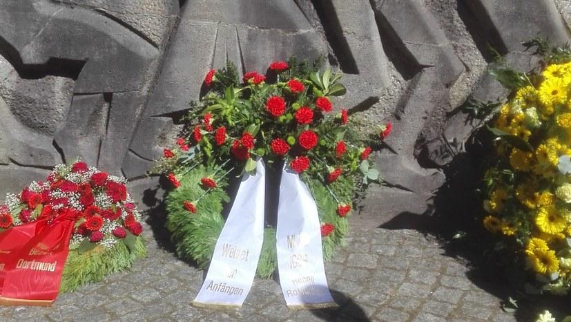 Eindrucksvolles Gedenken in Dortmund-Bittermark