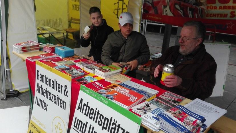 Dreiste Aktion der AfD am 1. Mai gescheitert