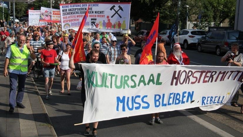 Jetzt Protestspenden für den Kultursaal Horster Mitte!