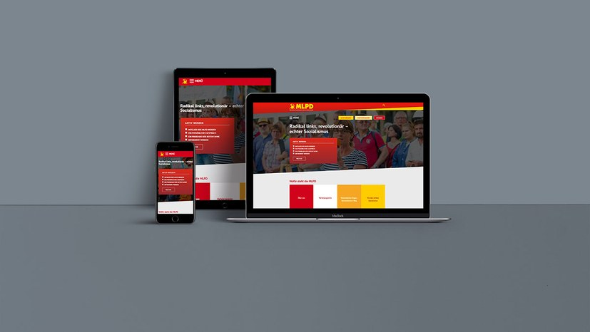 Veränderte Webseite der MLPD geht an den Start