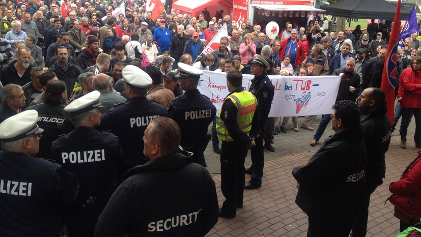 1. Mai-Kundgebung auch Tage später noch Thema