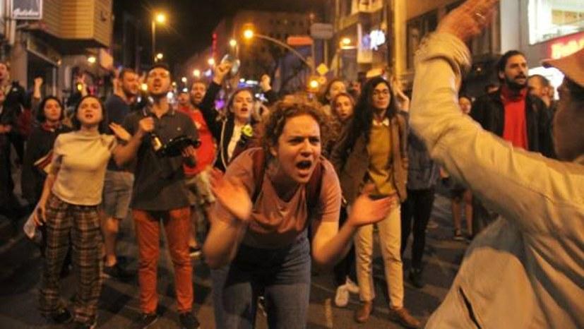 Istanbul: Proteste gegen Wahlannullierung