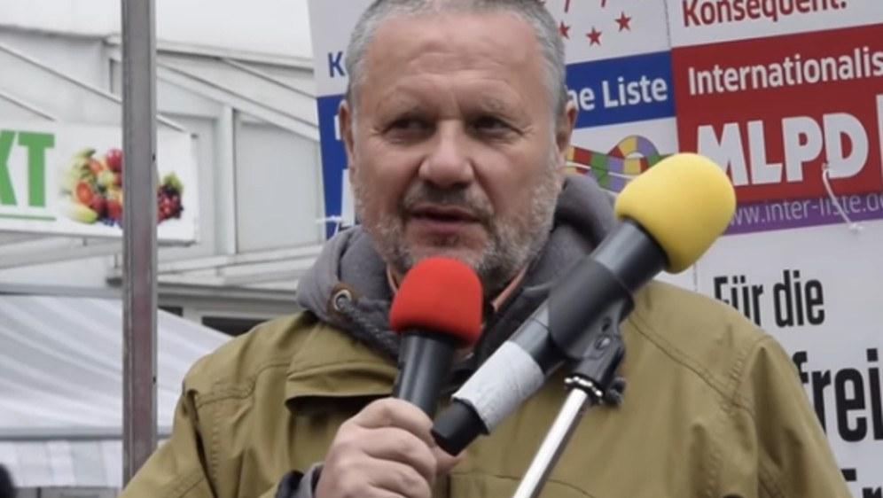 """Gelsenkirchen, 11.05.19: Rede von Stefan Engel """"Repressionen gegen die MLPD & was aus dem Sozialismus wurde"""""""
