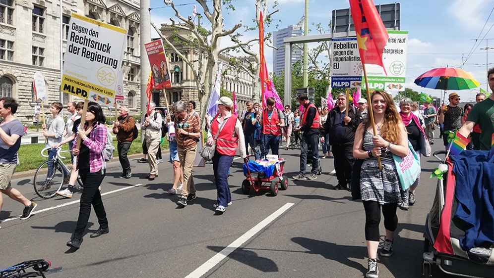 Große Offenheit für antiimperialistische Kritik an der EU und für den echten Sozialismus
