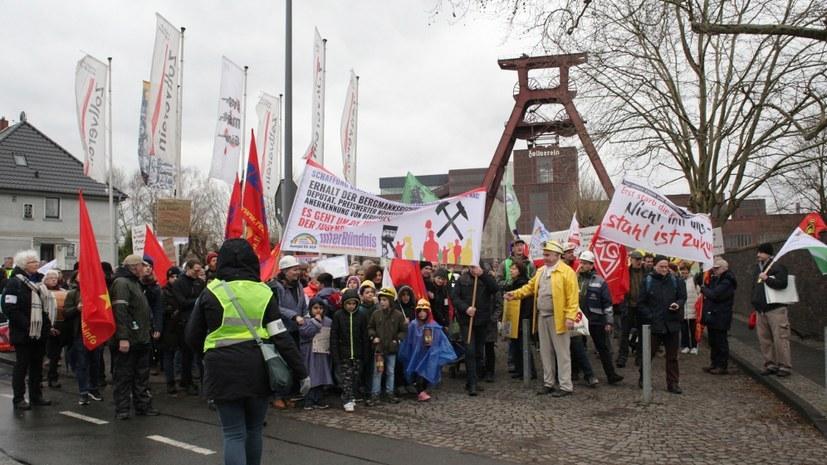 Bergarbeiterinitiative Kumpel für AUF ruft zur Demonstration auf