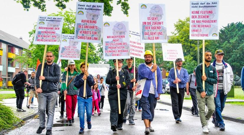 Wichtiger Schritt im Kampf um eine Massenbewegung gegen die RAG-Politik der verbrannten Erde