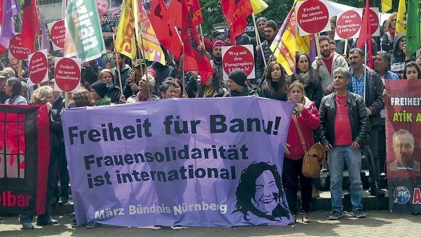 Freiheit für Dr. Banu Büyükavcı, Dr. Sinan Aydın, Sami Solmaz!