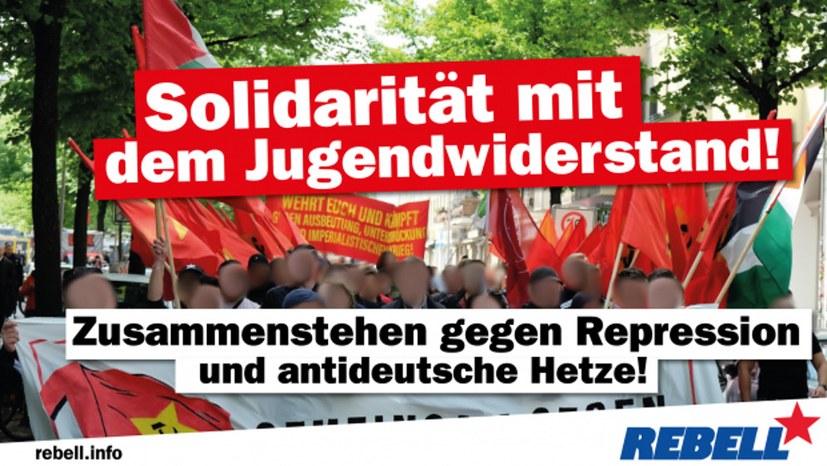 REBELL solidarisch gegen Polizeirazzien
