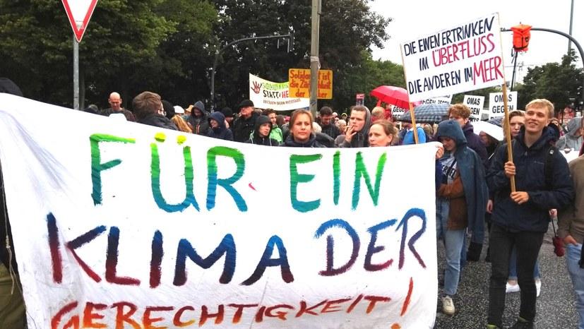 Große Beteiligung bei Seebrücke-Demonstration