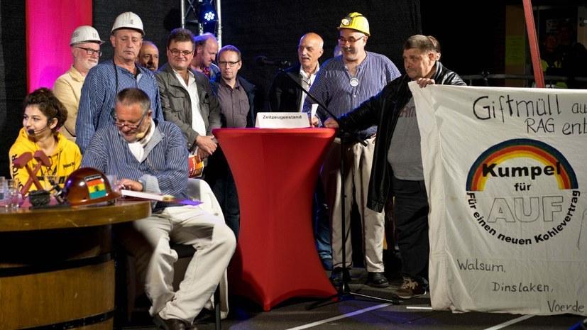 """Einladung zur Veranstaltung """"Der große Bergarbeiterstreik 1997"""""""