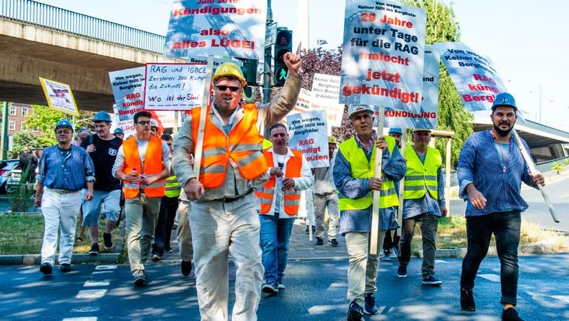 Dringendes Anliegen der Bergarbeiter und der Bevölkerung