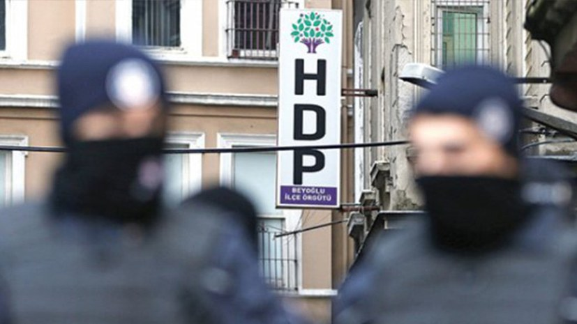 HDP-Vorsitzende in Alanya verhaftet