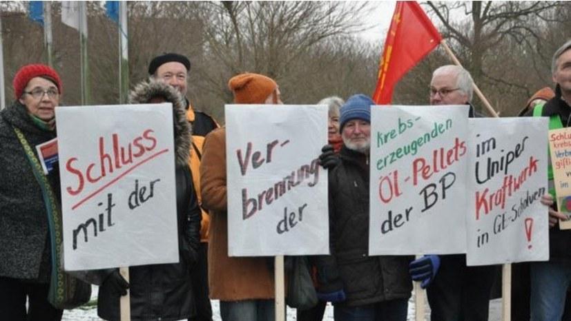"""Petition: """"Stoppt die BP- Ölpellet Verbrennung"""""""