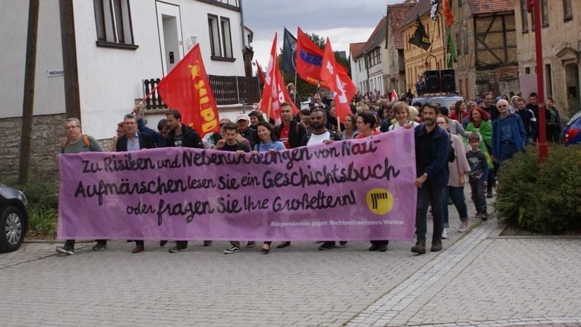 Prozess gegen den faschistischen Urheber von Morddrohungen gegen Monika Gärtner-Engel