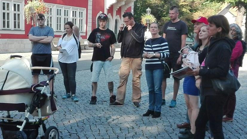 Protestkundgebungen gegen das Verbot des Ernst-Thälmann-Gedenkens